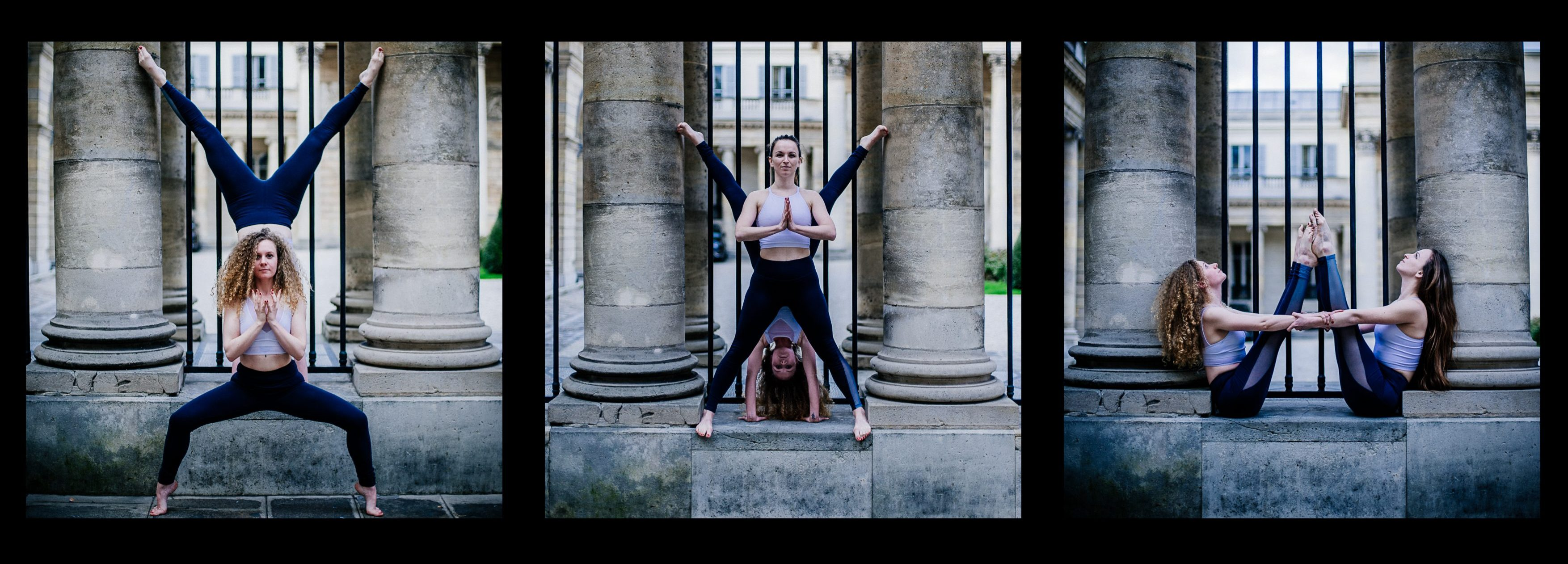 Urban YogaGraphy - Claire & Claire
